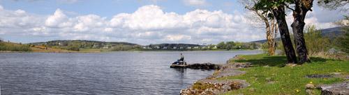 Scene Lough Scur rocks 11